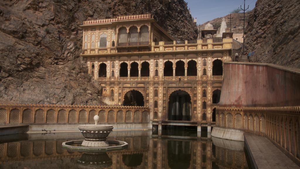 Galta and Surya Mandir Jaipur Rajasthan