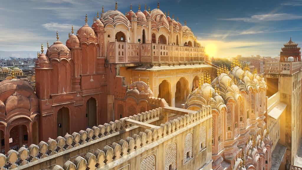 Hawa Mahal Jaipur Rajasthan India