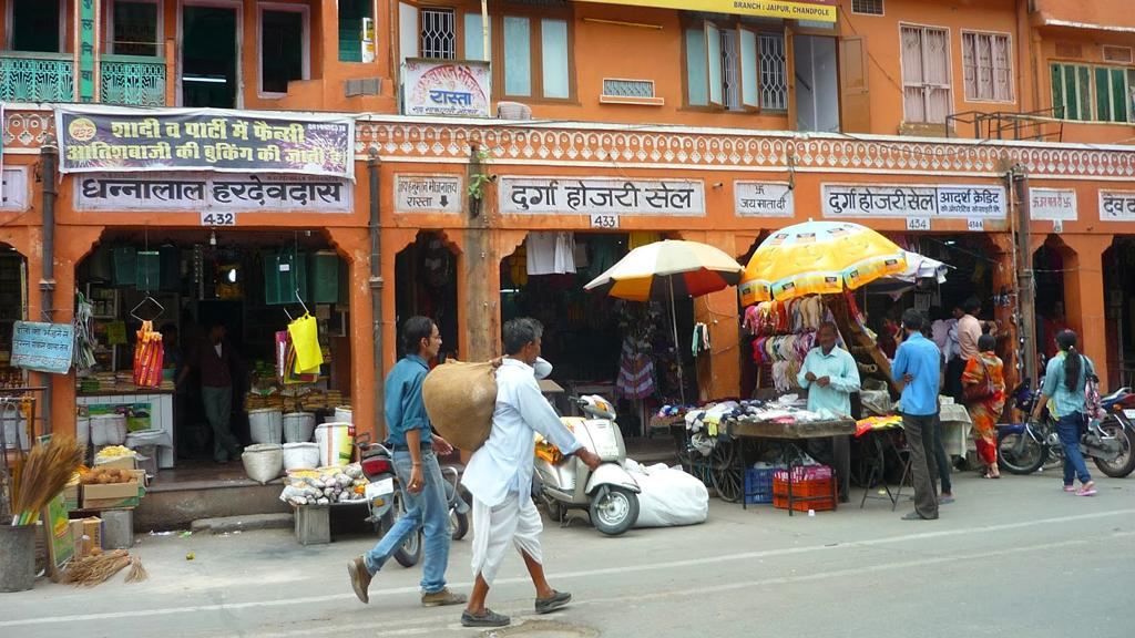 Johari Bazaar Jaipur Rajasthan