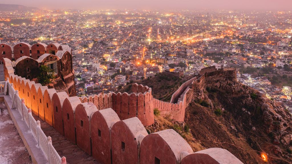Nahargarh Fort Jaipur Rajasthan